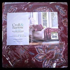 Croft & Barrow Reversible Cotton Quilt
